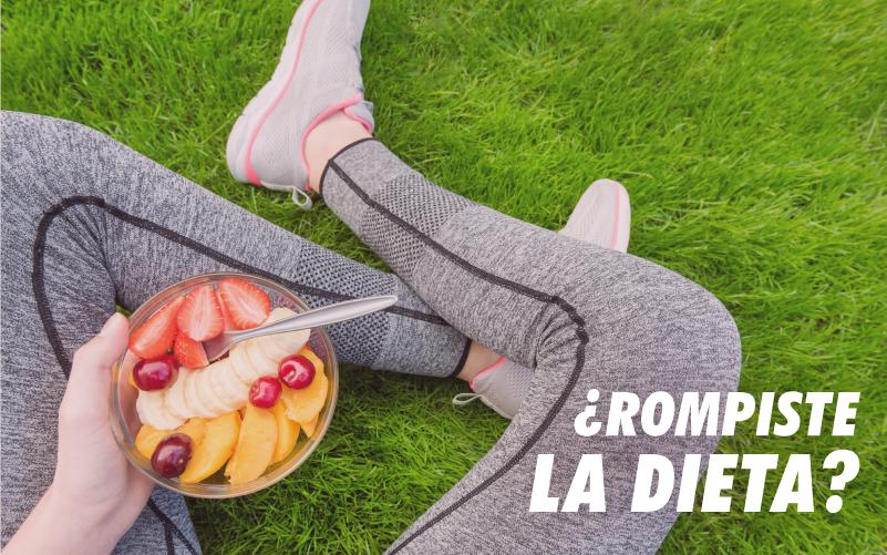 QUÉ EFECTOS TIENE ROMPER LA DIETA Y CÓMO VOLVER A LA RUTINA